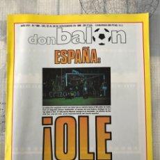 Coleccionismo deportivo: FÚTBOL DON BALÓN 684 - POSTER BALTAZAR - ESPAÑA - ELCHE - MADRID - BARÇA - RECRE - SEÑOR - EIBAR. Lote 221452238