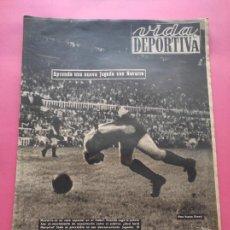 Coleccionismo deportivo: VIDA DEPORTIVA Nº 210 1949 LIGA 49/50 - VOLTA CATALUNYA CICLISMO - RCD ESPANYOL - BARÇA 10-1 NASTIC. Lote 221552770