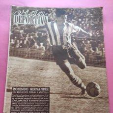 Coleccionismo deportivo: VIDA DEPORTIVA Nº 211 1949 LIGA 49/50 - VOLTA CICLISTA CATALUNYA POBLET - NASTIC - RCD ESPANYOL. Lote 221553216