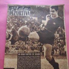 Coleccionismo deportivo: VIDA DEPORTIVA Nº 212 1949 LIGA 49/50 BARÇA 7-0 SEVILLA - ATLETI-ESPANYOL BEN BAREK - NASTIC-OVIEDO. Lote 221556436