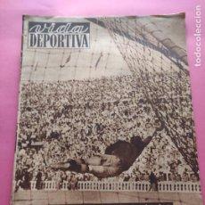 Coleccionismo deportivo: VIDA DEPORTIVA Nº 214 1949 LIGA 49/50 CELTA-ESPANYOL - REAL VALLADOLID-BARÇA - RICARDO ZAMORA. Lote 221557381