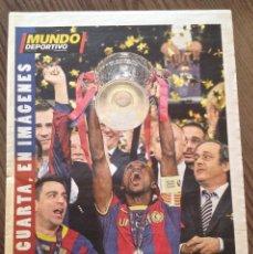 Coleccionismo deportivo: FC BARCELONA. CHAMPIONS 2006. BARÇA-ARSENAL 2-1. MUNDO DEPORTIVO.. Lote 221579637