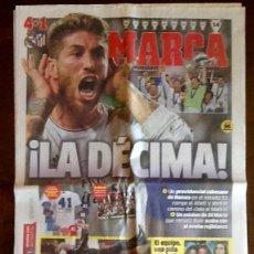 Coleccionismo deportivo: PERIODICO MARCA. - LA DECIMA 2014 -- ENVIO INCLUIDO.. Lote 221590156