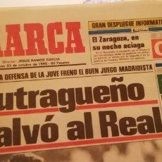Coleccionismo deportivo: REAL MADRID 1 JUVENTUS 0. OCTUBRE 1986 IDA .. Lote 221627583