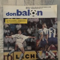 Coleccionismo deportivo: FÚTBOL DON BALÓN 673 - POSTER ESPANYOL - BUTRAGUEÑO - ELOY - MURCIA CÁDIZ LOGROÑÉS OVIEDO ELCHE. Lote 221681727