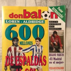 Coleccionismo deportivo: FÚTBOL DON BALÓN 746 - POSTER BUTRAGUEÑO MADRID - ATHLETIC - ATLÉTICO - RAYO - REAL SOCIEDAD. Lote 221708116