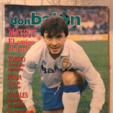 Coleccionismo deportivo: FÚTBOL DON BALÓN 790 - POSTER ESPANYOL - ZARAGOZA - DI STEFANO OSASUNA SUPERCO MADRID BARÇA HOLAND. Lote 221712637