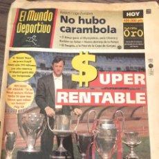 Coleccionismo deportivo: CRUYFF. MUNDO DEPORTIVO. 1995.. Lote 221714973