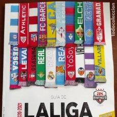 Coleccionismo deportivo: GUIA DIARIO AS EXTRA LIGA 2020/2021 - REVISTA ESPECIAL FUTBOL TEMPORADA 20/21 SUPLEMENTO. Lote 221739440