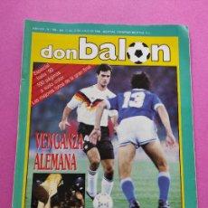 Coleccionismo deportivo: REVISTA DON BALON Nº 768 ESPECIAL MUNDIAL ITALIA 90 - POSTER ALEMANIA ARGENTINA WORLD CUP 1990. Lote 221741658