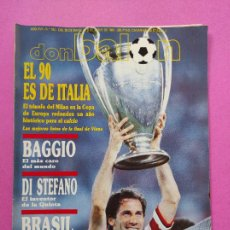 Coleccionismo deportivo: REVISTA DON BALON Nº 762 AC MILAN CAMPEON COPA EUROPA 89/90 POSTER WINNER CHAMPIONS LEAGUE 1989-1990. Lote 221742768