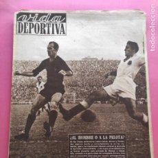 Coleccionismo deportivo: VIDA DEPORTIVA Nº 217 1949 LIGA 49/50 NASTIC 3-1 ESPANYOL - LLEIDA-GIRONA - ZAMORA - BARÇA-VALENCIA. Lote 221773077