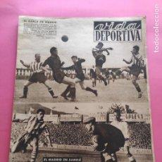 Coleccionismo deportivo: VIDA DEPORTIVA Nº 218 1949 LIGA 49/50 ESPANYOL-REAL MADRID - ATHELTIC 7-0 NASTIC - ATLETI 4-1 BARÇA. Lote 221773816