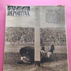 Coleccionismo deportivo: VIDA DEPORTIVA Nº 220 1949 LIGA 49/50 CELTA-BARÇA - ESPANYOL-DEPOR - NASTIC-REAL MADRID - ZAMORA. Lote 221775647