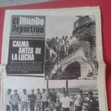 Coleccionismo deportivo: PERIÓDICO NEWSPAPER EL MUNDO DEPORTIVO Nº 13.681 17 SEPT. 1967 DERBI FÚTBOL CLUB BARCELONA ESPAÑOL... Lote 221776996
