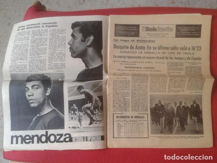 Coleccionismo deportivo: PERIÓDICO NEWSPAPER EL MUNDO DEPORTIVO Nº 13.681 17 SEPT. 1967 DERBI FÚTBOL CLUB BARCELONA ESPAÑOL.. - Foto 3 - 221776996