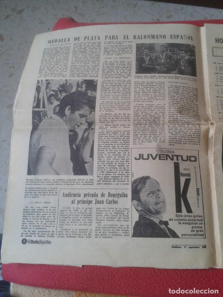 Coleccionismo deportivo: PERIÓDICO NEWSPAPER EL MUNDO DEPORTIVO Nº 13.681 17 SEPT. 1967 DERBI FÚTBOL CLUB BARCELONA ESPAÑOL.. - Foto 4 - 221776996