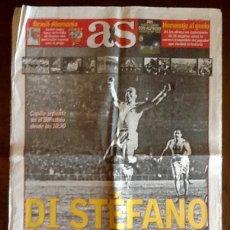 Coleccionismo deportivo: PERIODICO - AS 2014 - DIESTEFANO, DE MADRID AL CIELO . ENVIO INCLUIDO.. Lote 221807393