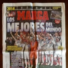 Coleccionismo deportivo: PERIODICO - MARCA 2014 - LOS MEJORES DEL MUNDO.ENVIO INCLUIDO.. Lote 221807628