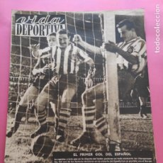 Coleccionismo deportivo: VIDA DEPORTIVA Nº 222 1949 LIGA 49/50 SEVILLA 9-0 NASTIC - BARÇA 1-2 ESPANYOL AROSA-SABADELL LLEIDA. Lote 221859456