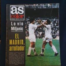 Coleccionismo deportivo: AS COLOR 1974 , CON POSTER DE CRUYFF. Lote 221875913