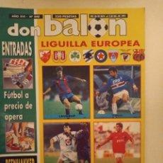 Coleccionismo deportivo: DON BALÓN 840. Lote 221891357