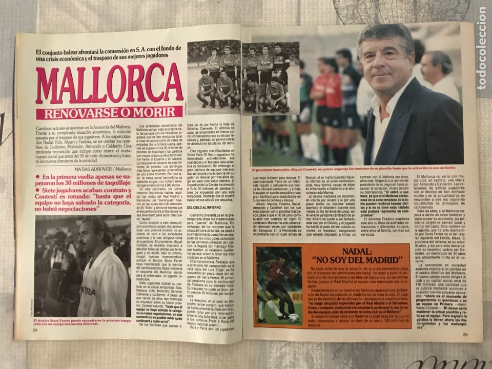Coleccionismo deportivo: Fútbol don balón 801 - Maradona - España - Castellón - Mallorca - Milla - Logroñés - Foto 3 - 221902896
