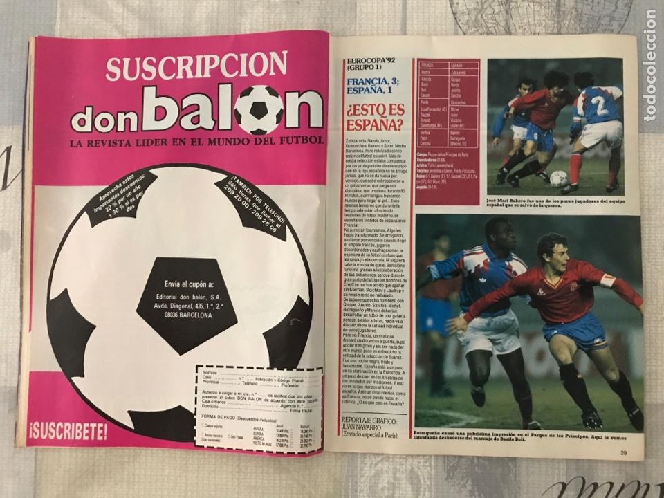 Coleccionismo deportivo: Fútbol don balón 801 - Maradona - España - Castellón - Mallorca - Milla - Logroñés - Foto 5 - 221902896