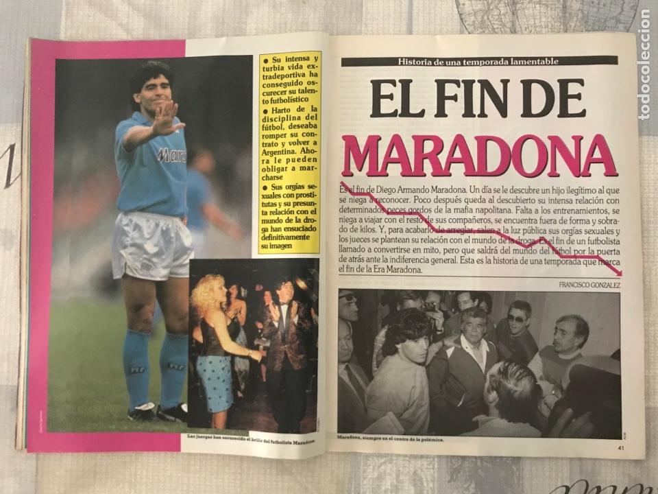 Coleccionismo deportivo: Fútbol don balón 801 - Maradona - España - Castellón - Mallorca - Milla - Logroñés - Foto 9 - 221902896