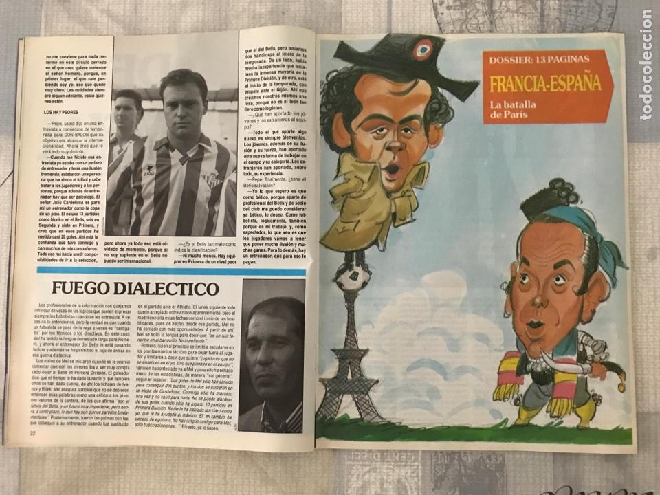 Coleccionismo deportivo: Fútbol don balón 799 - Poster Butragueño - Abel - España - Betis - Barça - Castellón - Tarrés - Foto 3 - 221904617
