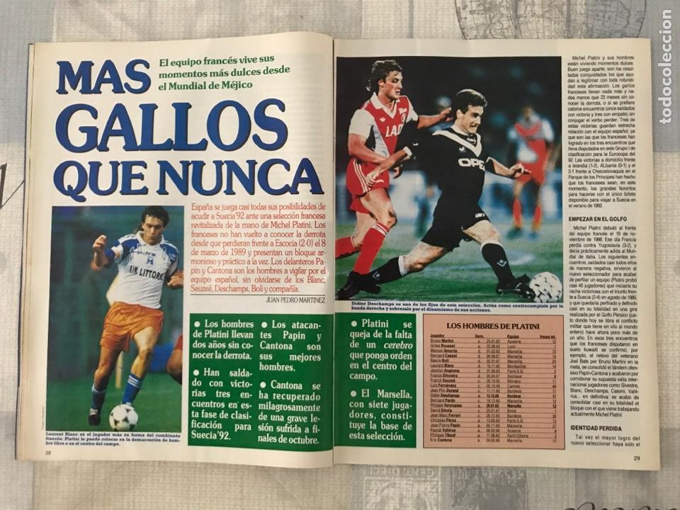 Coleccionismo deportivo: Fútbol don balón 799 - Poster Butragueño - Abel - España - Betis - Barça - Castellón - Tarrés - Foto 4 - 221904617