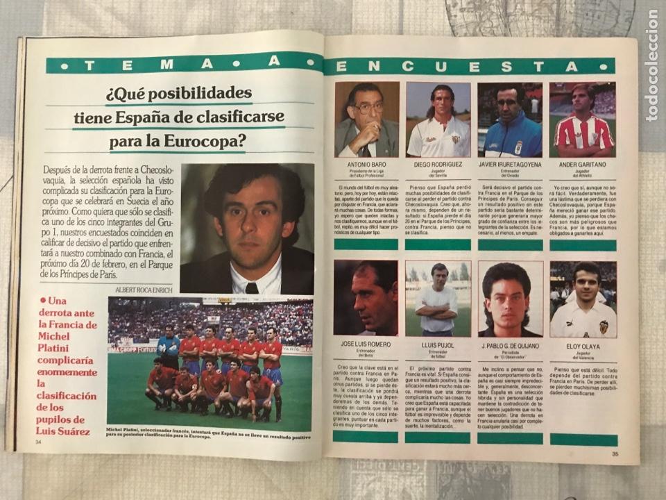 Coleccionismo deportivo: Fútbol don balón 799 - Poster Butragueño - Abel - España - Betis - Barça - Castellón - Tarrés - Foto 6 - 221904617