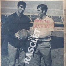 Coleccionismo deportivo: ANTIGÜA PAGINA - DEL MUNDO DEPORTIVO - DE 4 /10/1969 - DOS ASES EN LUCHA POR DOS PUNTOS Y .... Lote 221933376