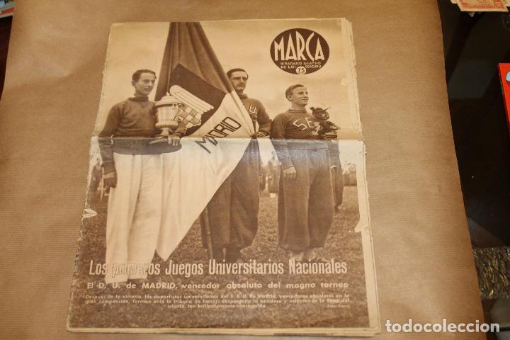 MARCA SEMANARIO GRÁFICO DE LOS DEPORTES Nº 168, 28 ABRIL 1942 (Coleccionismo Deportivo - Revistas y Periódicos - Marca)