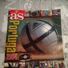 Collectionnisme sportif: GUIA AS EUROCOPA PORTUGAL 2004. Lote 222222676
