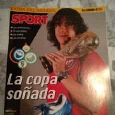 Coleccionismo deportivo: EXTRA MUNDIAL SPORT ALEMANIA 2006. Lote 222223758