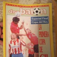 Coleccionismo deportivo: DON BALÓN 819 JULIO 1991 ESPECIAL FINAL COPA DEL REY LA PRIMERA COPA DE GIL. Lote 222250951