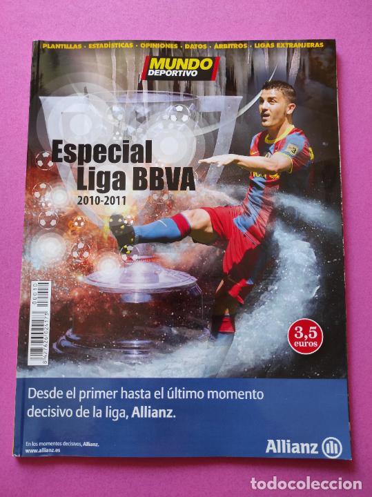 GUIA DIARIO MUNDO DEPORTIVO EXTRA LIGA - REVISTA ANUARIO 2010/2011 FUTBOL TEMPORADA 10/11 (Coleccionismo Deportivo - Revistas y Periódicos - Mundo Deportivo)