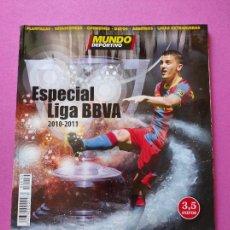 Coleccionismo deportivo: GUIA DIARIO MUNDO DEPORTIVO EXTRA LIGA - REVISTA ANUARIO 2010/2011 FUTBOL TEMPORADA 10/11. Lote 222301980