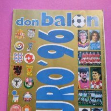 Collezionismo sportivo: EXTRA DON BALON EURO 96 REVISTA ESPECIAL GUIA EUROCOPA INGLATERRA 1996 UEFA FUTBOL GUIDE EC ENGLAND. Lote 222303291