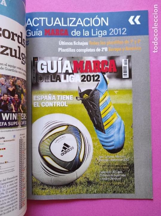 Coleccionismo deportivo: EXTRA MARCA GUIA LIGA DE CAMPEONES 11/12 - ACTUALIZACION LIGA 2011/2012 - ESPECIAL CHAMPIONS LEAGUE - Foto 2 - 222304875
