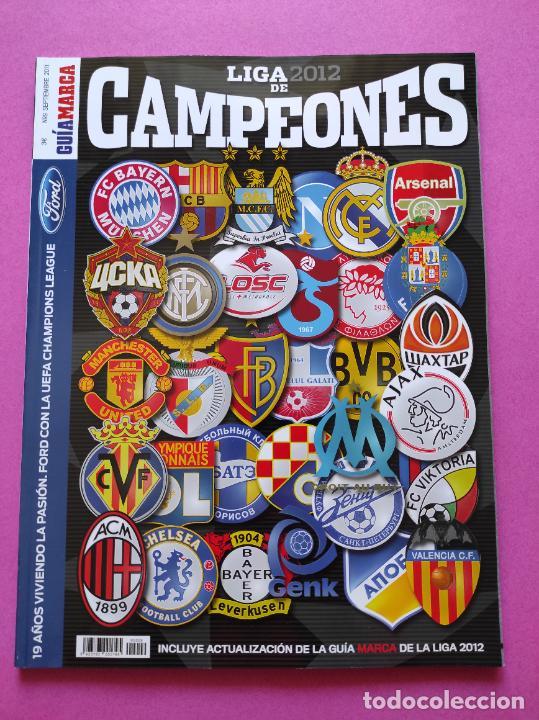 EXTRA MARCA GUIA LIGA DE CAMPEONES 11/12 - ACTUALIZACION LIGA 2011/2012 - ESPECIAL CHAMPIONS LEAGUE (Coleccionismo Deportivo - Revistas y Periódicos - Marca)