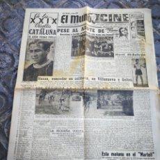 Coleccionismo deportivo: EL MUNDO DEPORTIVO- BARCELONA VS. SEVILLA+ XXIX VUELTA CICLISTA CATALUÑA, 1949.. Lote 222325101