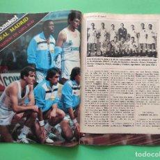 Coleccionismo deportivo: REVISTA DON BALON Nº 478 1984 POSTER REAL MADRID BASKET CAMPEON COPA 84/85 - HISTORIA VALENCIA (2). Lote 222325291