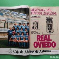 Coleccionismo deportivo: REVISTA DON BALON Nº 482 1985 POSTER REAL OVIEDO 84/85 FASCICULO HISTORIA - MADRID-BARÇA - ELCHE CF. Lote 222326335