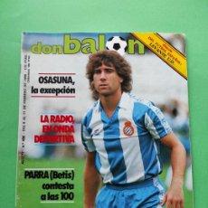 Coleccionismo deportivo: REVISTA DON BALON Nº 486 1985 HISTORIA UD LEVANTE POSTER ESTEBAN - BASKET BARÇA HOWARD DAVIS. Lote 222327793