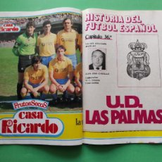 Coleccionismo deportivo: REVISTA DON BALON Nº 495 1985 FASCICULO HISTORIA UD LAS PALMAS POSTER 84/85-PETROVIC MADRID CIBONA. Lote 222336166