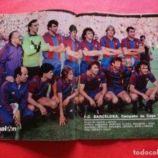 Coleccionismo deportivo: REVISTA DON BALON Nº 298 ESPECIAL FC BARCELONA CAMPEON COPA DEL REY 80/81 - BARÇA 1980 1981 QUINI. Lote 222339265
