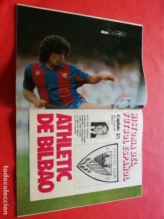 REVISTA DON BALON Nº 435 1984 POSTER MARADONA BARÇA 83/84 - FASCICULO 1 HISTORIA ATHLETIC CLUB (Coleccionismo Deportivo - Revistas y Periódicos - Don Balón)