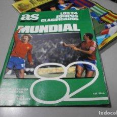 Coleccionismo deportivo: REVISTA AS EXTRA MUNDIAL 82 COMPLETA EN MUY BUEN ESTADO. Lote 222419712